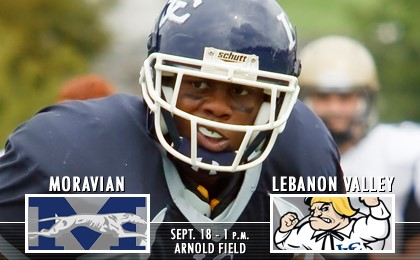 Football Searching For Win Vs Moravian Lebanon Valley College